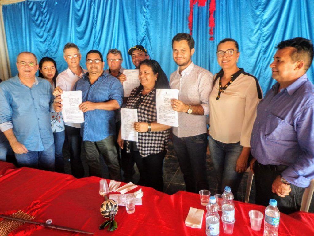 IMG 20180224 WA0113 1024x768 - Prefeito Moisés Ventura, recebe em Jenipapo dos Vieiras o deputado Hildo Rocha e o Secretário Nacional da Saúde Indígena - minuto barra