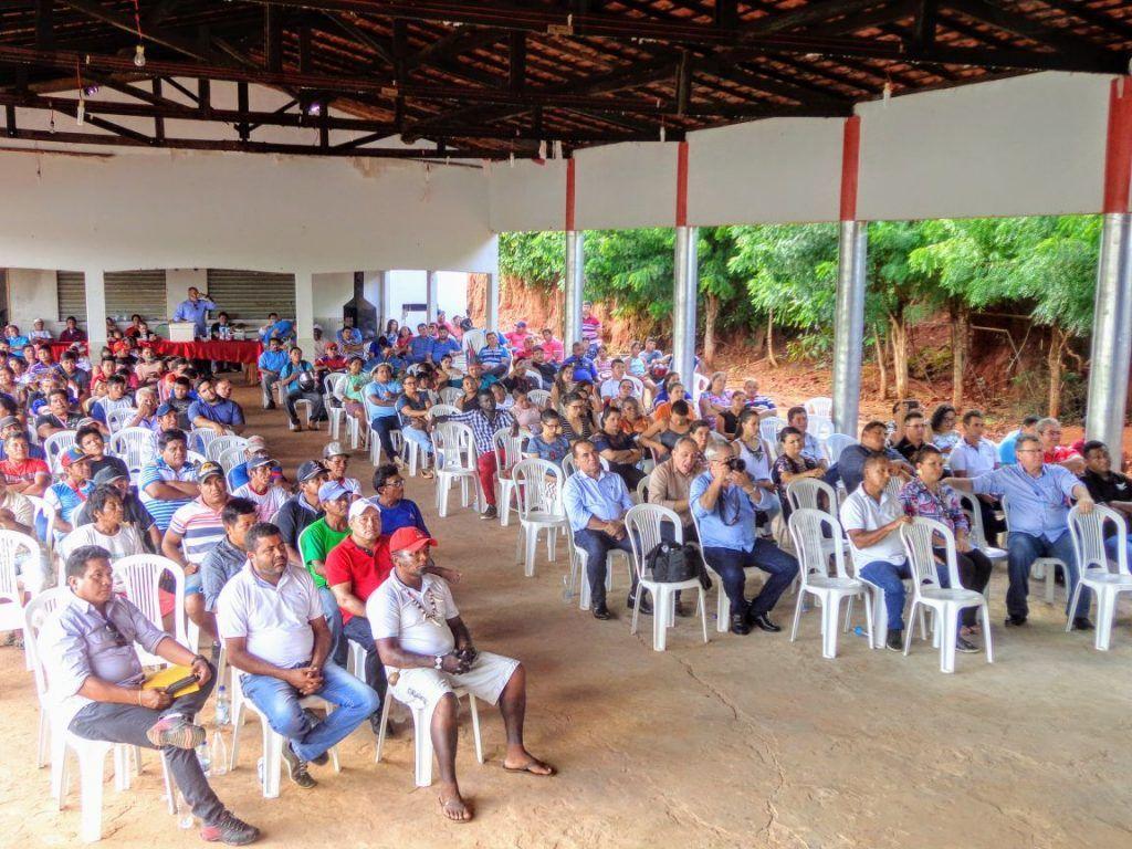IMG 20180224 WA0120 1024x768 - Prefeito Moisés Ventura, recebe em Jenipapo dos Vieiras o deputado Hildo Rocha e o Secretário Nacional da Saúde Indígena - minuto barra