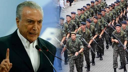 images 1 1 - Forças Armadas assumirá a Segurança no Rio; Michel Temer determina intervenção - minuto barra
