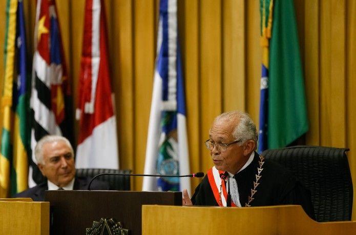 novo presidente tst - João Batista Brito, natural de Sucupira do Norte(MA) toma posse na presidência do TST - minuto barra