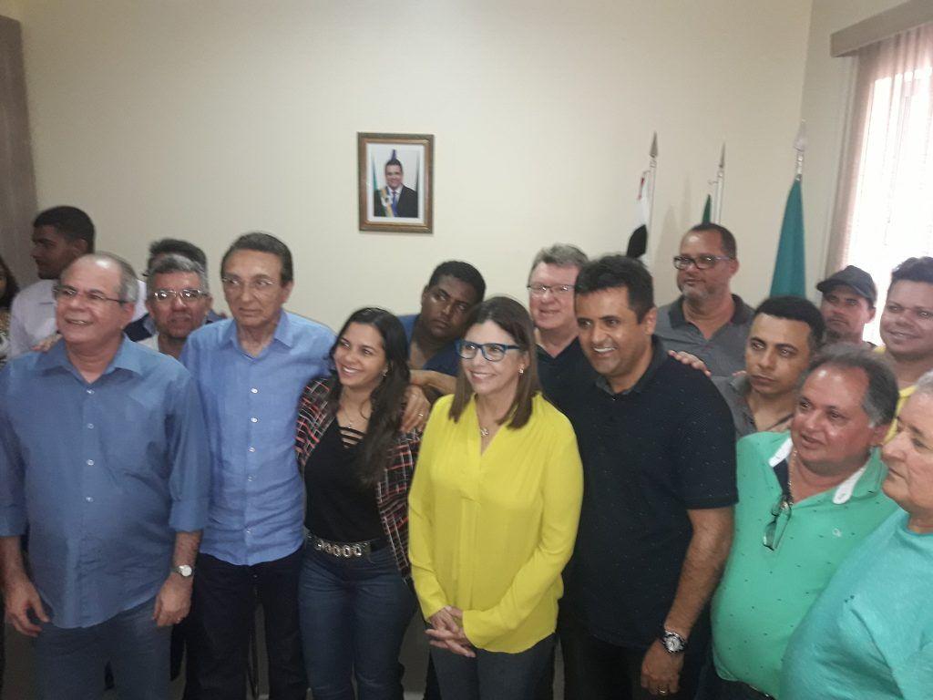 20180312 133013 1024x768 - Roseana é recebida pelo prefeito Nelson Horácio em Porto Franco - minuto barra