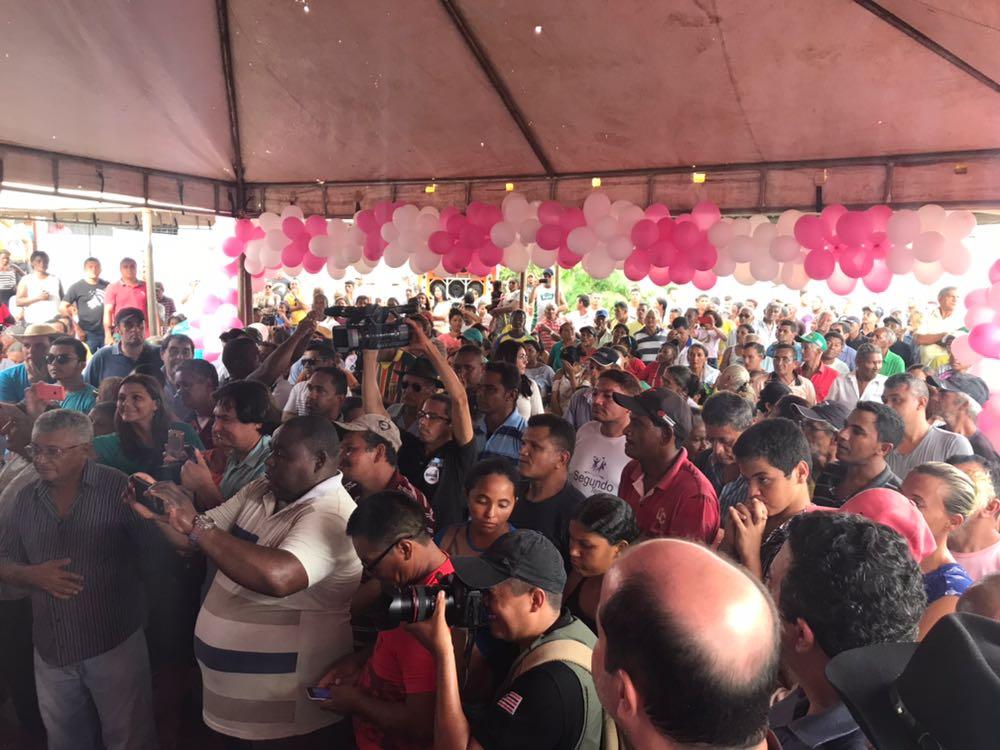 IMG 20180309 WA0129 - Caravana da Guerreira: Roseana é recebida com festa em Bom Jesus das Selvas - minuto barra