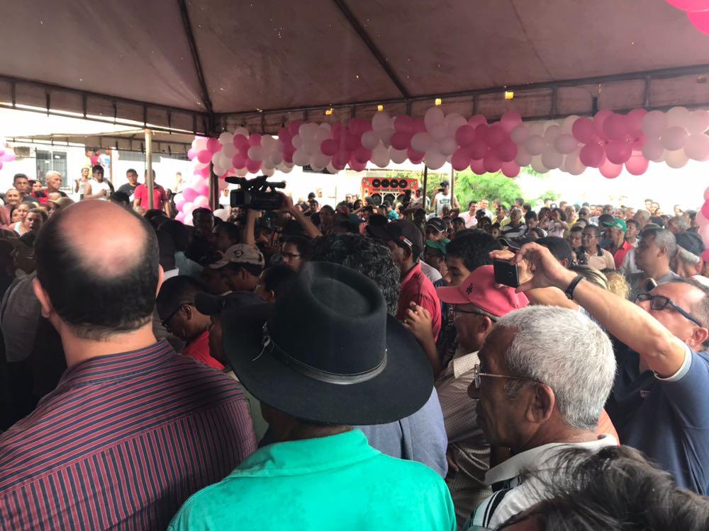 IMG 20180309 WA0130 - Caravana da Guerreira: Roseana é recebida com festa em Bom Jesus das Selvas - minuto barra