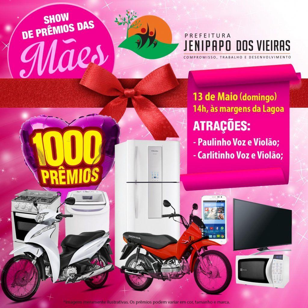 IMG 20180508 WA0063 1024x1024 - Prefeito Moisés Ventura promove mega festa para as mães neste domingo - minuto barra