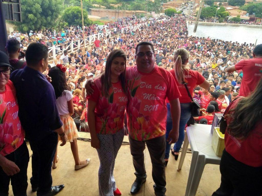 IMG 20180514 WA0005 1024x768 - Foi um show de Wesley? NÃO!! Prefeito Moisés realiza a maior festa do Maranhão em comemoração ao dia das mães em Jenipapo dos Vieiras - minuto barra