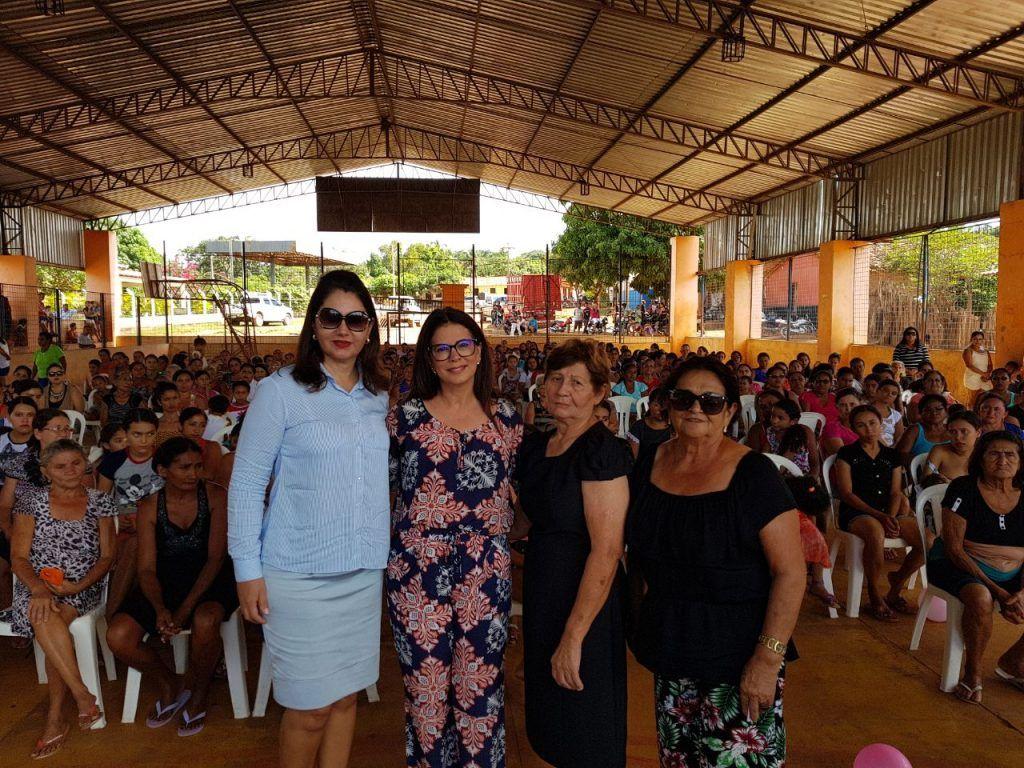 IMG 20180515 WA0016 1024x768 - Abigail Cunha e dona Santinha promovem grandes festas para às mães na zona rural de Barra do Corda - minuto barra
