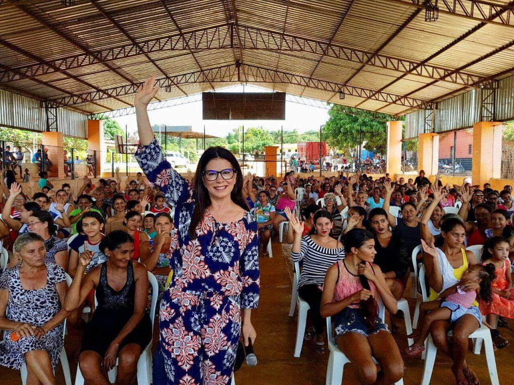 IMG 20180515 WA0018 1024x768 - Abigail Cunha e dona Santinha promovem grandes festas para às mães na zona rural de Barra do Corda - minuto barra