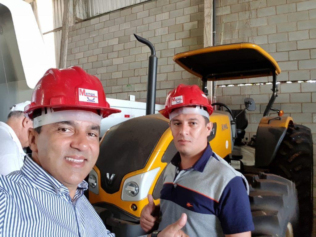 IMG 20180530 WA0017 1024x768 - Prefeito Adailton recebe duas patrulhas agrícolas para Fernando Falcão - minuto barra