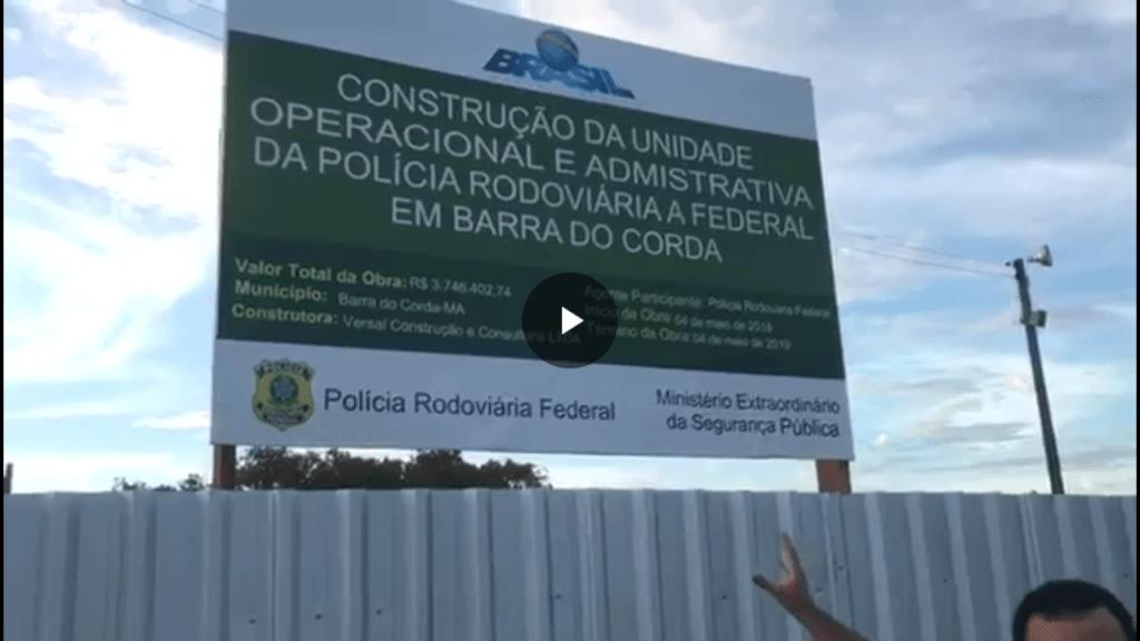 Screenshot 20180525 082247 1024x576 - Posto da PRF na Br-226 em Barra do Corda ficará pronto em maio de 2019 - minuto barra