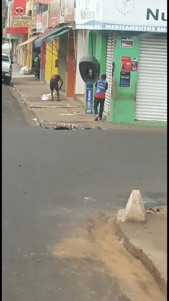 Screenshot 20180530 214001 576x1024 - COVARDIA!!! Em Barra do Corda, mototaxista lança bombas em mendigo - minuto barra