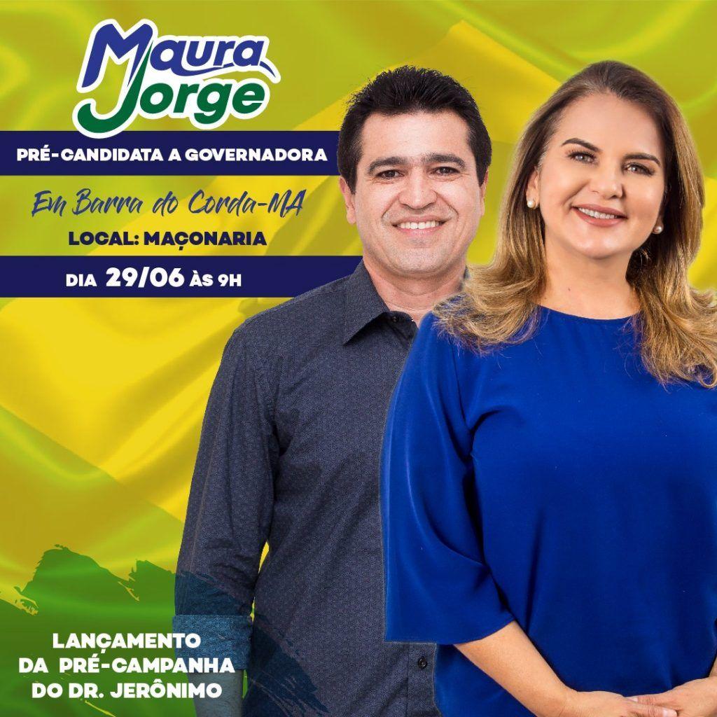 IMG 20180624 WA0027 1024x1024 - Pré-candidata a governadora Maura Jorge vem a Barra do Corda lançar a pré-candidatura de Dr Jerônimo - minuto barra