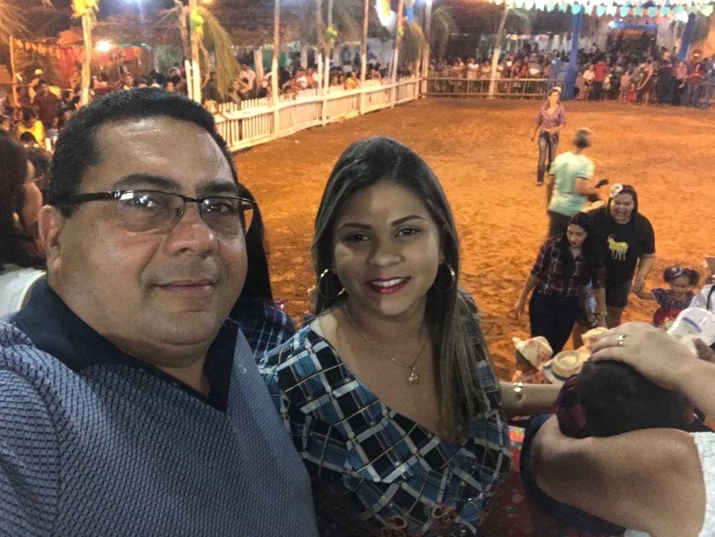 IMG 20180625 WA0007 1024x769 - Prefeito Moisés Ventura prestigia abertura do festejo junino em Jenipapo dos Vieiras - minuto barra