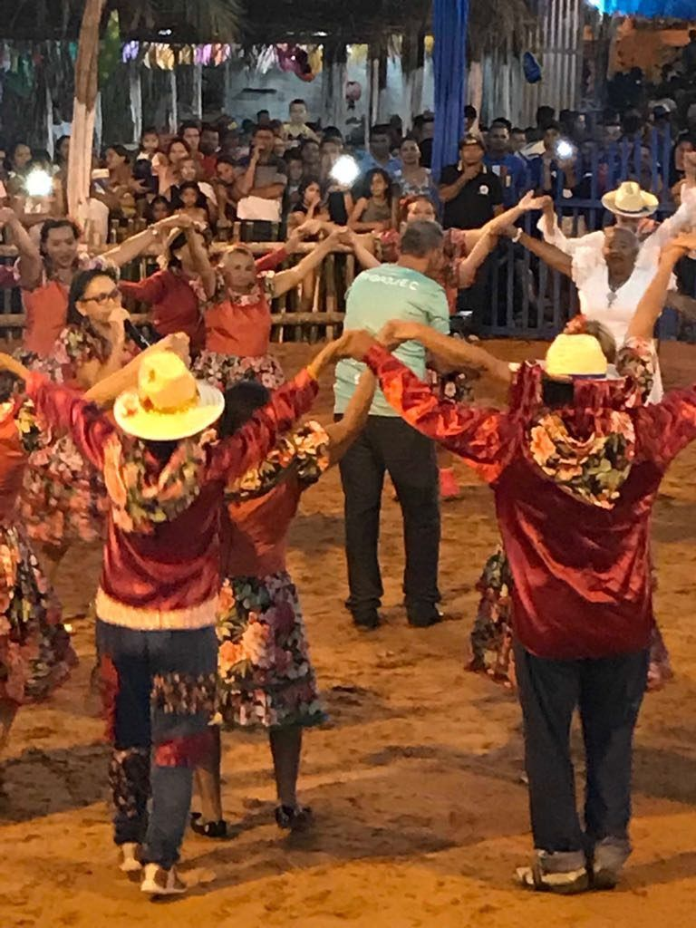 IMG 20180625 WA0009 768x1024 - Prefeito Moisés Ventura prestigia abertura do festejo junino em Jenipapo dos Vieiras - minuto barra