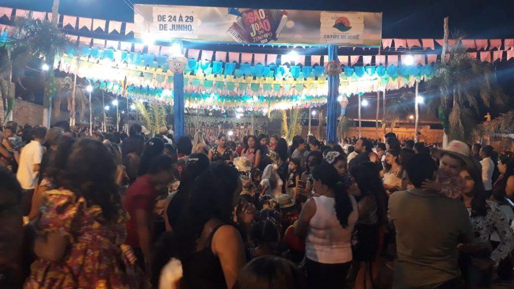 IMG 20180625 WA0013 1024x576 - Prefeito Moisés Ventura prestigia abertura do festejo junino em Jenipapo dos Vieiras - minuto barra