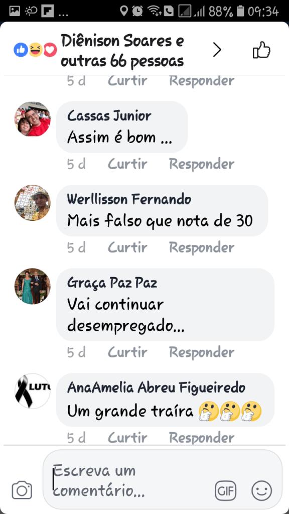 Screenshot 20180607 093414 576x1024 - Gastão Vieira é chamado de ingrato e covarde quando tentou desqualificar o grupo Sarney - minuto barra