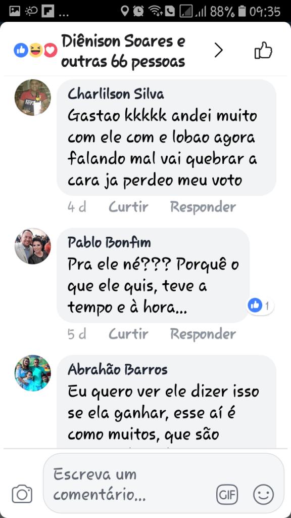 Screenshot 20180607 093502 576x1024 - Gastão Vieira é chamado de ingrato e covarde quando tentou desqualificar o grupo Sarney - minuto barra