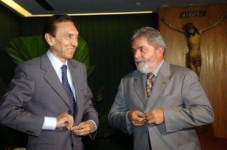 lula e edison lobao jose cruz abr - Senador Lobão defende a soltura de Lula - minuto barra