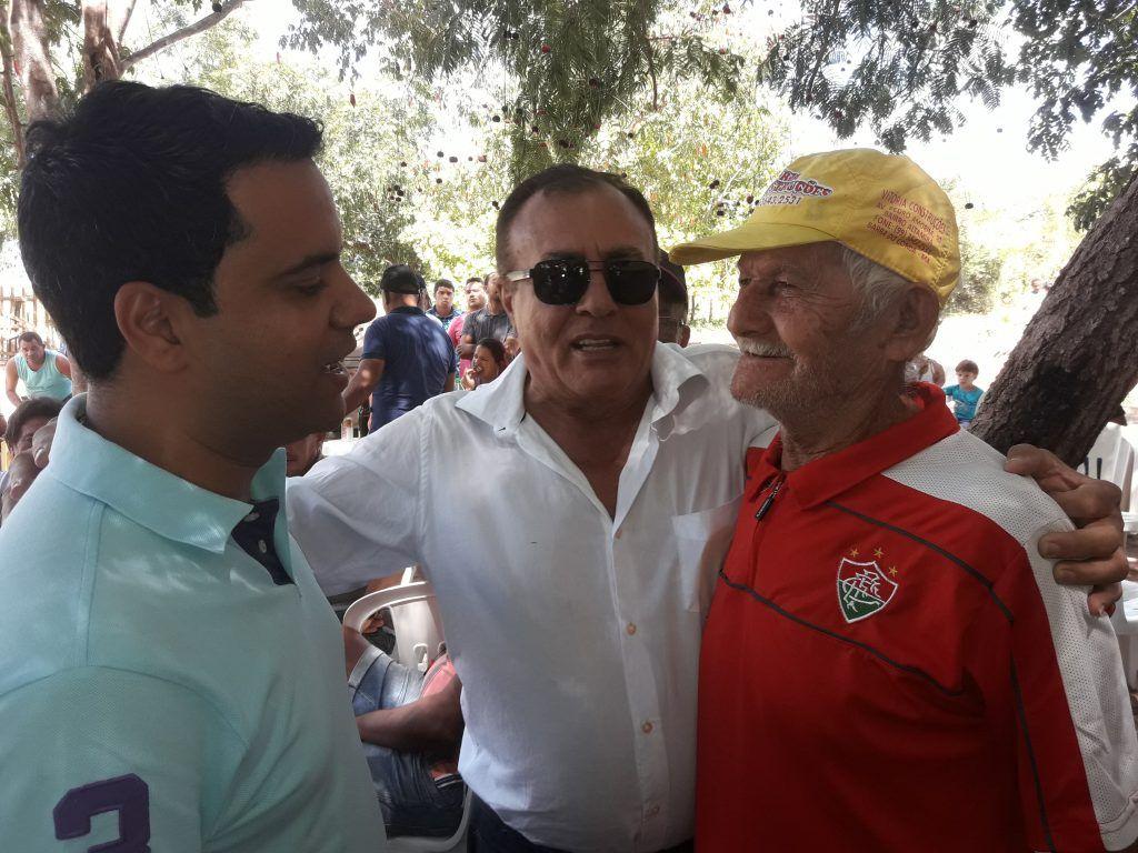 20180708 122507 1024x768 - Avelar Sampaio mostra liderança ao receber Edilázio e Antonio Pereira em Barra do Corda - minuto barra