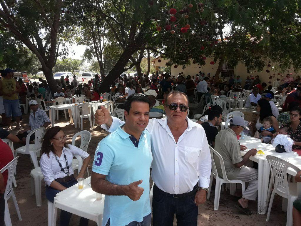 20180708 123515 1024x768 - Avelar Sampaio mostra liderança ao receber Edilázio e Antonio Pereira em Barra do Corda - minuto barra
