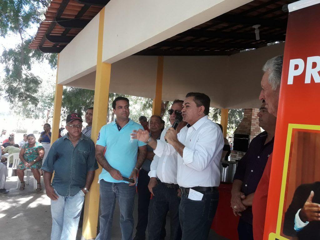 20180708 132350 1024x768 - Avelar Sampaio mostra liderança ao receber Edilázio e Antonio Pereira em Barra do Corda - minuto barra