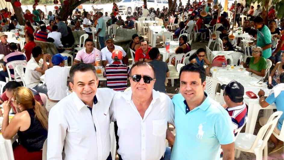 IMG 20180708 WA0026 - Avelar Sampaio mostra liderança ao receber Edilázio e Antonio Pereira em Barra do Corda - minuto barra