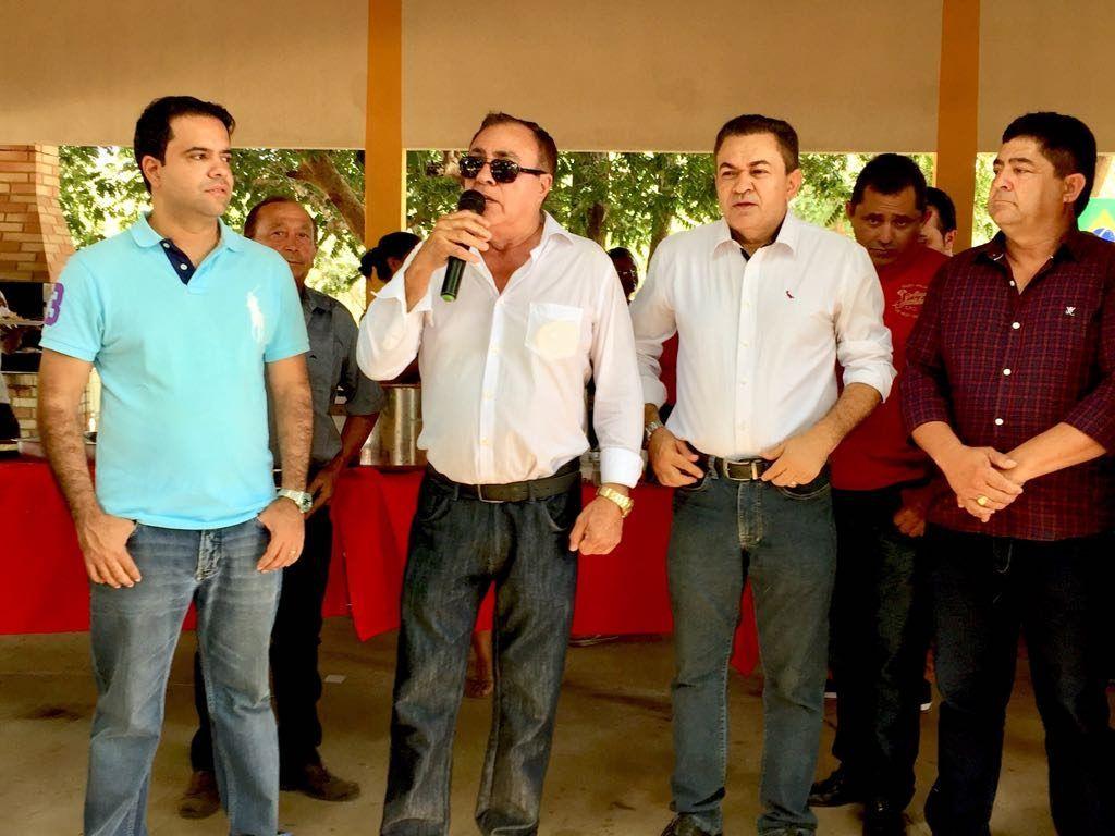 IMG 20180708 WA0027 1024x768 - Avelar Sampaio mostra liderança ao receber Edilázio e Antonio Pereira em Barra do Corda - minuto barra