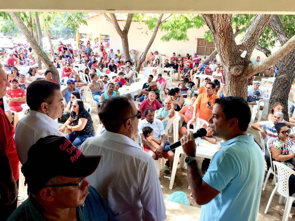 IMG 20180708 WA0031 1024x768 - Avelar Sampaio mostra liderança ao receber Edilázio e Antonio Pereira em Barra do Corda - minuto barra
