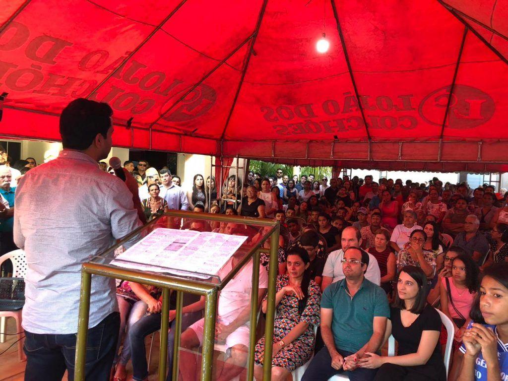 IMG 20180711 WA0022 1024x768 - LUTO: Deputados prestam homenagens ao ex-prefeito Avelar Sampaio, falecido em Barra do Corda - minuto barra
