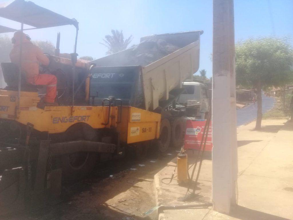 IMG 20180716 WA0016 1024x768 - Prefeito Moisés Ventura retoma com asfaltamento de ruas em Jenipapo dos Vieiras - minuto barra