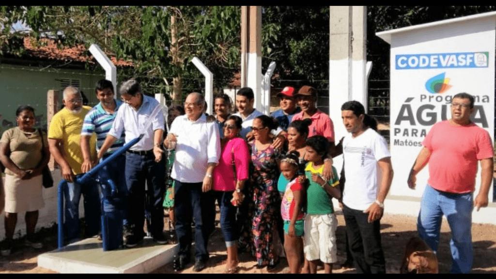 Screenshot 20180710 072527 1024x576 - Em Matões do Norte, Hildo Rocha inaugura sistema de abastecimento de água com a Codevasf - minuto barra