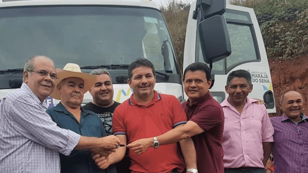 Screenshot 20180713 065118 1024x576 - Emenda parlamentar de Hildo Rocha possibilita doação de caçamba basculante para Marajá do Sena - minuto barra