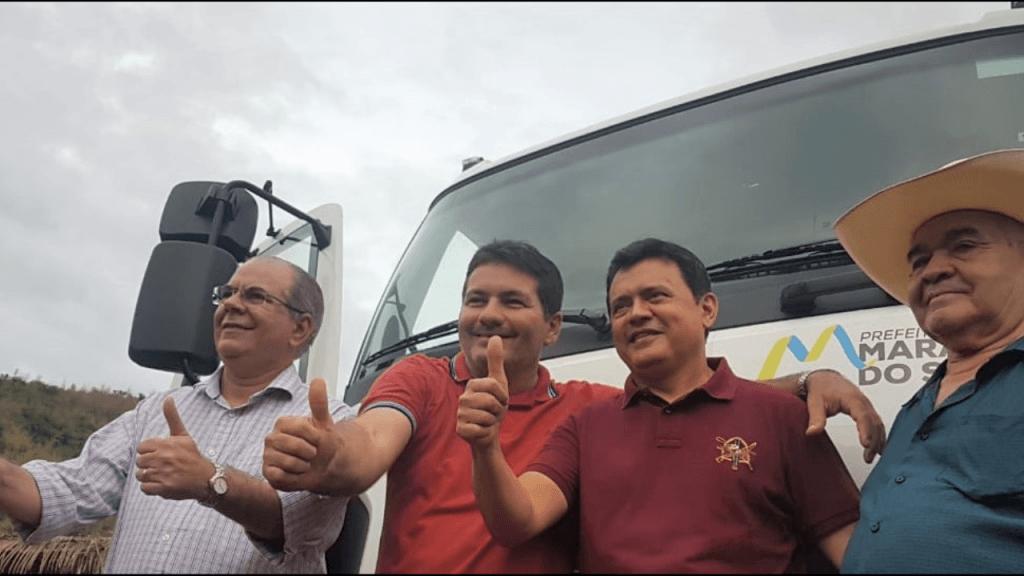 Screenshot 20180713 065211 1024x576 - Emenda parlamentar de Hildo Rocha possibilita doação de caçamba basculante para Marajá do Sena - minuto barra