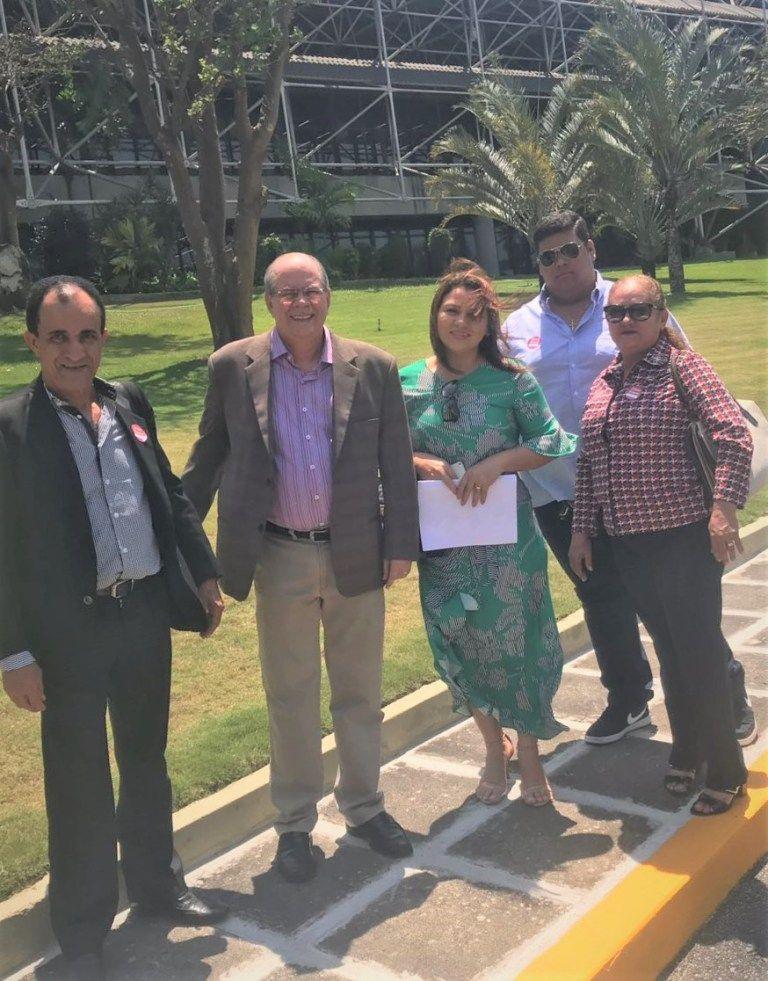 Comitiva liderada por Hildo Rocha no BNB 1 - Banco do Nordeste atende pedido de Hildo Rocha em favor dos cooperativistas, e determina o fim das hipotecas junto ao cartório de Barra do Corda - minuto barra