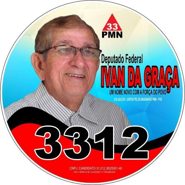 Graça do Ivan 20180905 145209 - Ivan Pacheco segue firme como candidato a deputado federal - minuto barra