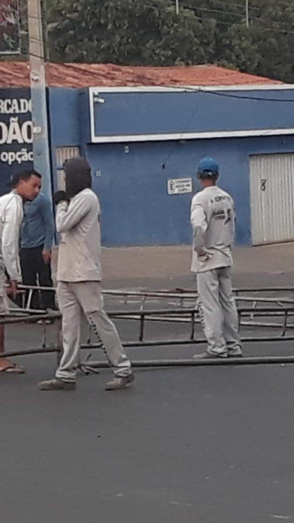 IMG 20180901 WA0011 576x1024 - Alô MPE e Justiça Eleitoral!! Carro de som transita livremente com músicas de candidato em Barra do Corda - minuto barra