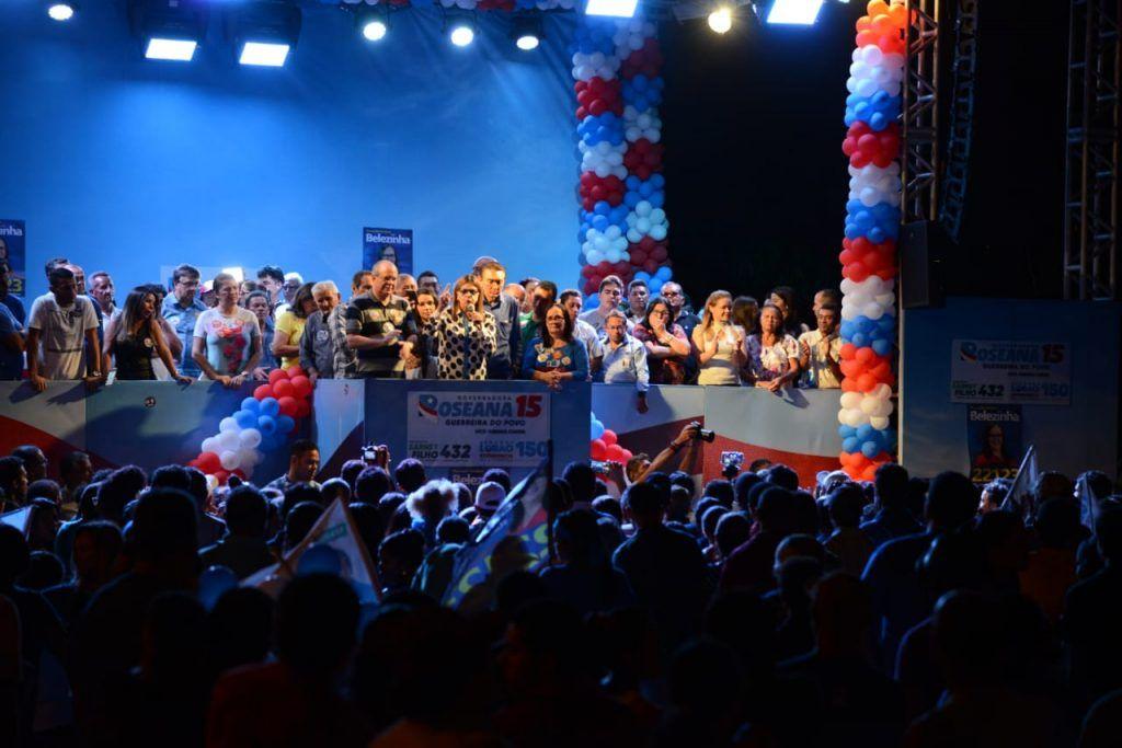 IMG 20180902 WA0006 1024x683 - Roseana é recebida por uma multidão na cidade de Chapadinha - minuto barra