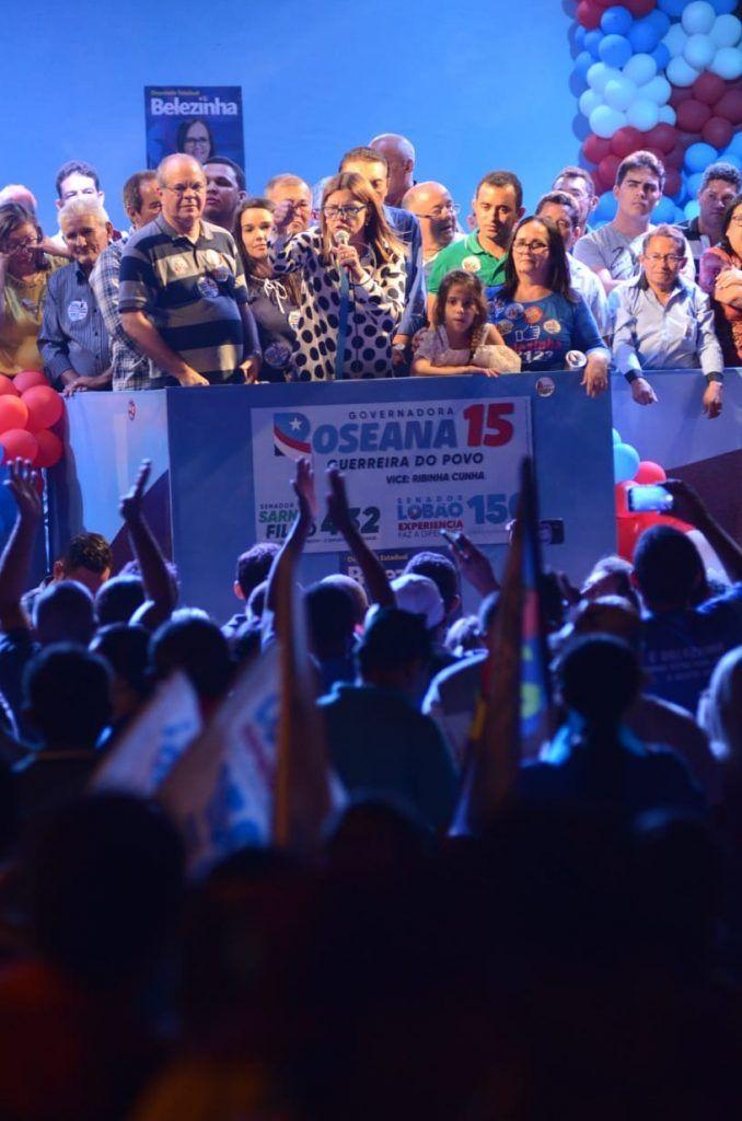 IMG 20180902 WA0008 678x1024 - Roseana é recebida por uma multidão na cidade de Chapadinha - minuto barra
