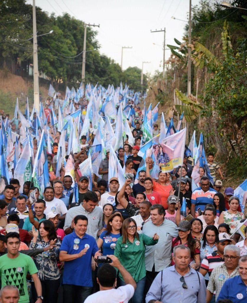 IMG 20180914 WA0175 837x1024 - Roseana é recebida por uma multidão em Barra do Corda - minuto barra