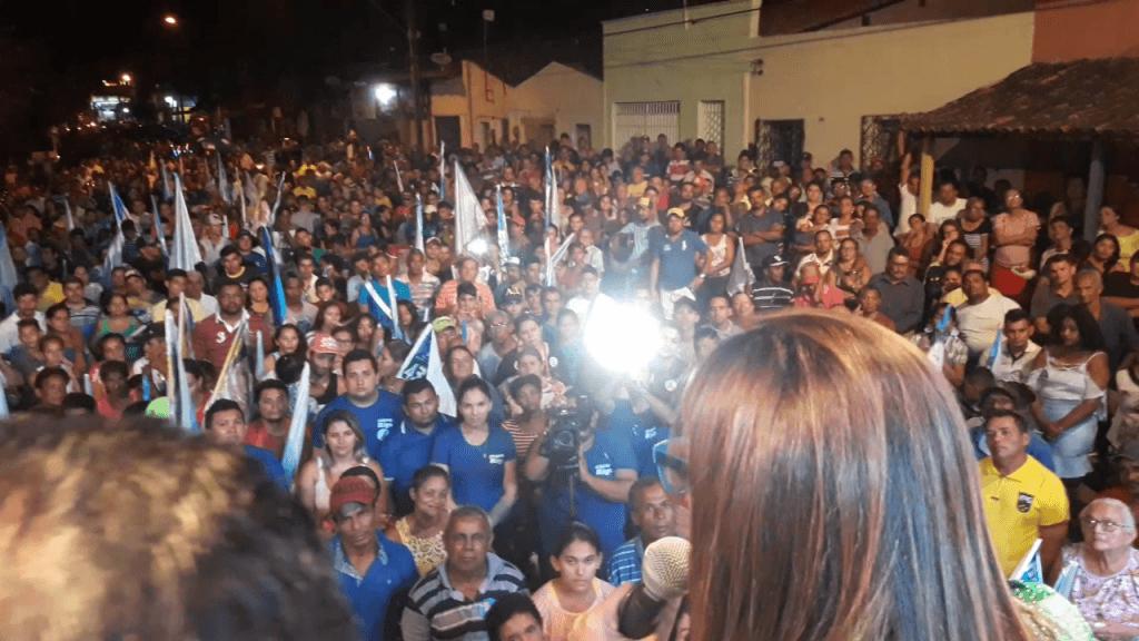 Screenshot 20180914 224530 1024x576 - Roseana é recebida por uma multidão em Barra do Corda - minuto barra