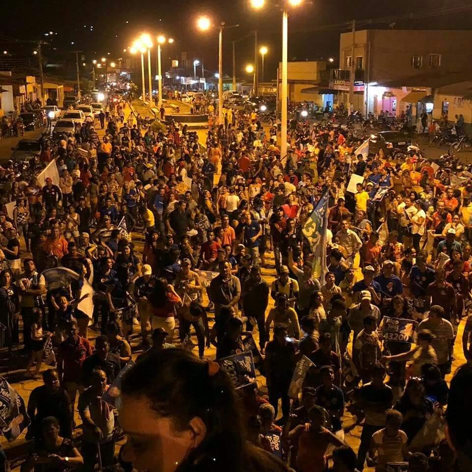 IMG 20181004 WA0025 - Rigo Teles promoverá grande carreata e comício no encerramento de sua campanha nesta quinta-feira em Barra do Corda - minuto barra
