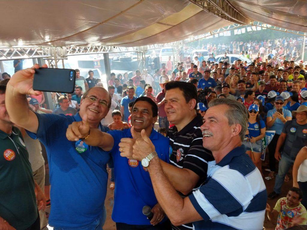 IMG 20181004 WA0032 1024x768 - Rigo Teles promoverá grande carreata e comício no encerramento de sua campanha nesta quinta-feira em Barra do Corda - minuto barra