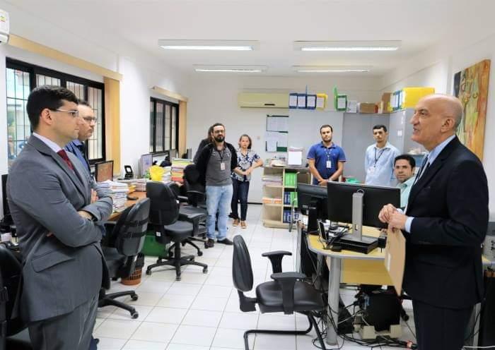 FB IMG 1541431854547 - Desembargador corregedor realiza visita estratégica no fórum de justiça de Barra do Corda - minuto barra