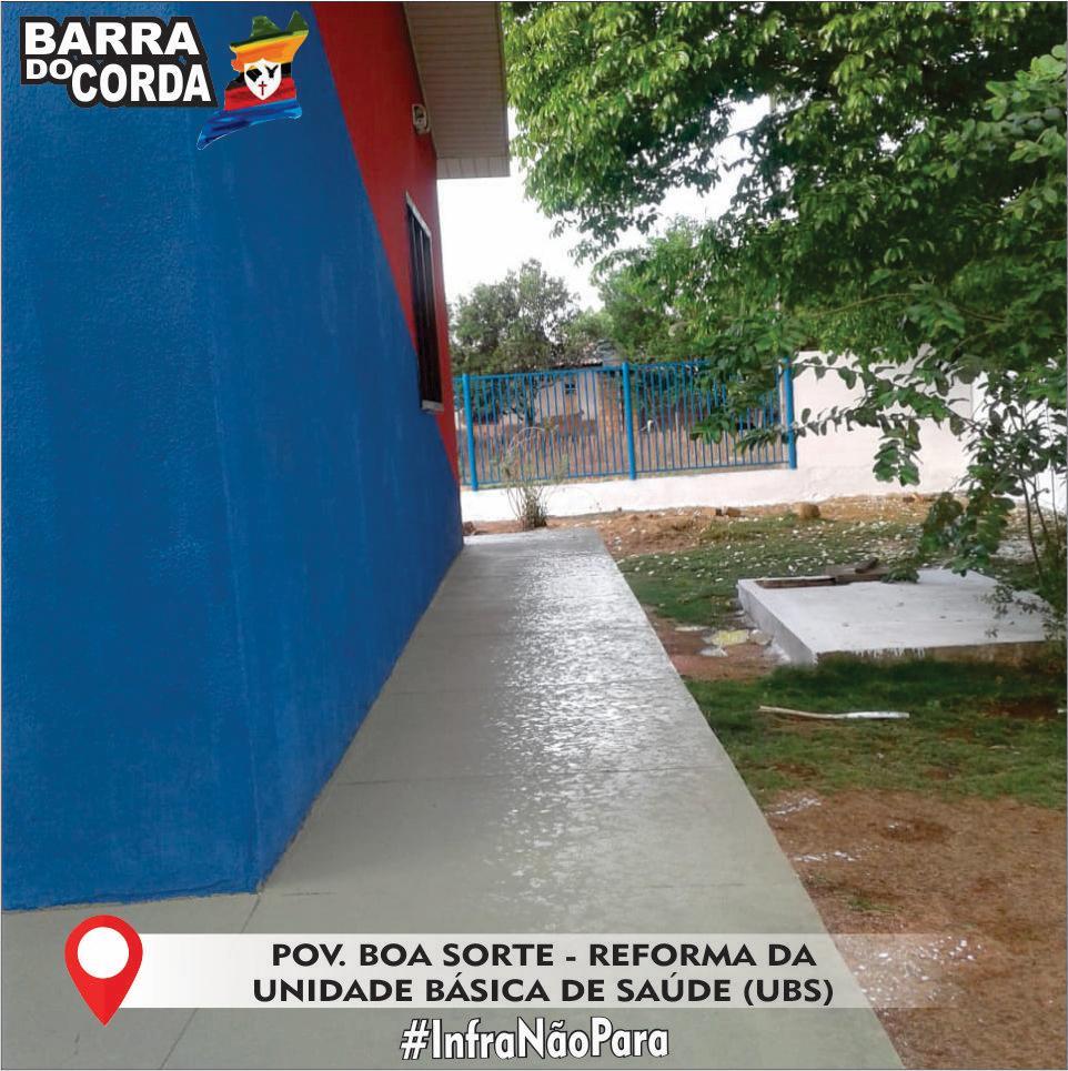 IMG 20181112 WA0038 - Prefeitura de Barra do Corda realiza reforma na UBS do Povoado Boa Sorte - minuto barra