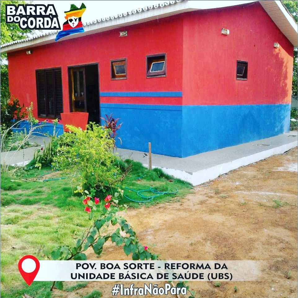 IMG 20181112 WA0044 - Prefeitura de Barra do Corda realiza reforma na UBS do Povoado Boa Sorte - minuto barra