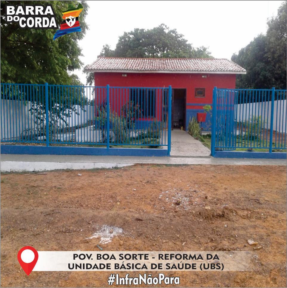 IMG 20181112 WA0045 - Prefeitura de Barra do Corda realiza reforma na UBS do Povoado Boa Sorte - minuto barra