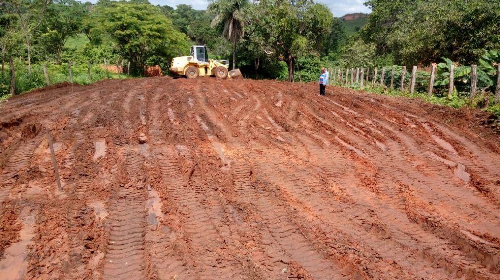 IMG 20181215 WA0007 1024x575 - Prefeito Moisés Ventura inicia construção de casa de farinha com recursos enviados por Hildo Rocha - minuto barra