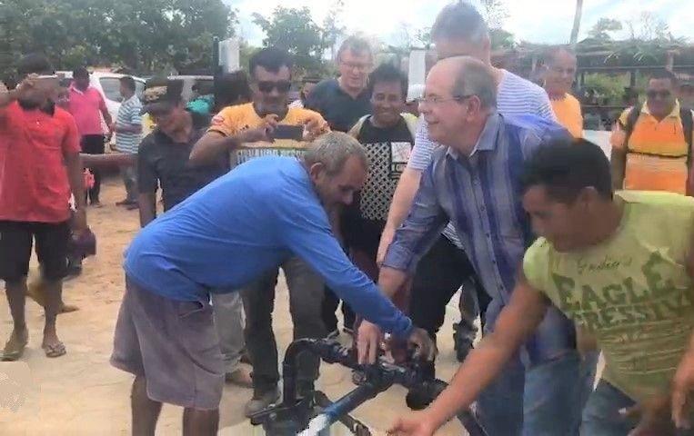 Hildo Rocha leva benefícios para comunidades indígenas de Barra do Corda 1 - Hildo Rocha leva benefícios para comunidades indígenas de Barra do Corda - minuto barra