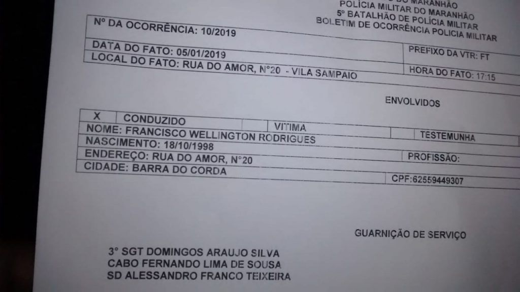 IMG 20190105 WA0057 1024x575 - NOTÍCIA DA TARDE: Homem acusado de estupro é preso em Barra do Corda - minuto barra