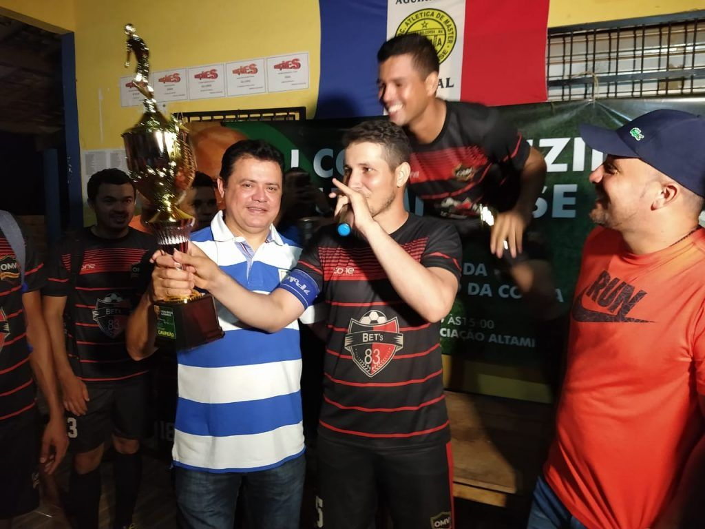 IMG 20190112 WA0082 1024x768 - Time do OMV é campeão do 1° campeonato Nenzin Altamirense - minuto barra