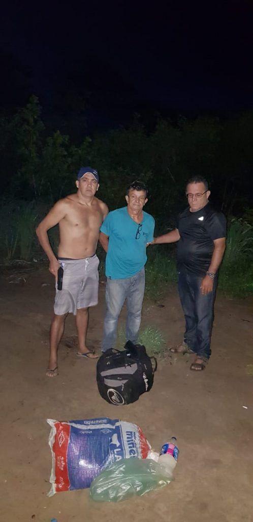 IMG 20190127 WA0097 498x1024 - VEJA AQUI: Momento da prisão em Barra do Corda do homem acusado de estuprar filha e enteada no Goiás - minuto barra